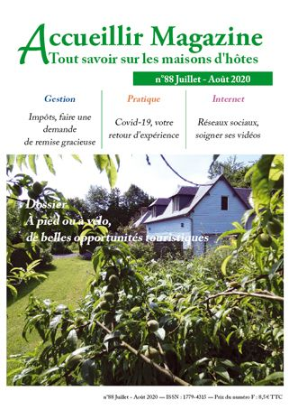 Accueillir Magazine n°88 Juillet / Août 2020